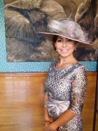 Sombrero elegante